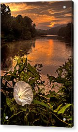 Meramec River At Chouteau Claim Acrylic Print by Robert Charity