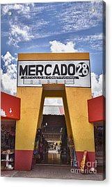 Mercado 28 In Cancun Acrylic Print