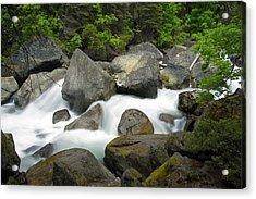 Acrylic Print featuring the photograph Merced River by Chuck De La Rosa