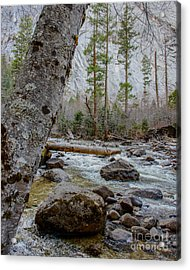 Merced River From Happy Isles Acrylic Print