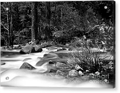 Merced River Acrylic Print by Jason Abando