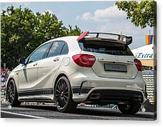 Mercedes A-class Amg 45 As Atp Trophy In Stuttgart - Germany Acrylic Print by Frank Gaertner