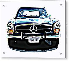 Mercedes Benz 280sl Roadster Acrylic Print