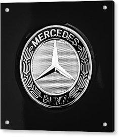 Mercedes-benz 6.3 Gullwing Emblem Acrylic Print