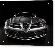 Mercedes Mclaren Slr Acrylic Print