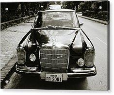 Mercedez Benz Acrylic Print