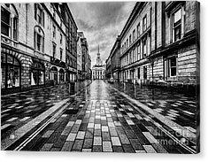 Merchant City Glasgow Acrylic Print by John Farnan