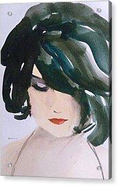 Acrylic Print featuring the painting Merci Mon Cheri by Ed  Heaton