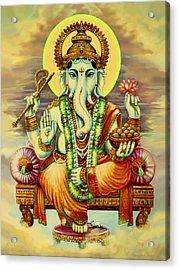 Merciful Ganesha Acrylic Print by Svahha Devi