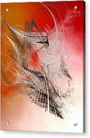 Mercury In Aries - Cardinal Fire Acrylic Print