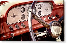 Acrylic Print featuring the photograph Mercury Truck by Trever Miller