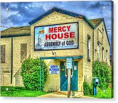 Mercy? Acrylic Print by MJ Olsen