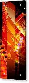 Merged - Arched Orange Acrylic Print by Jon Berry OsoPorto