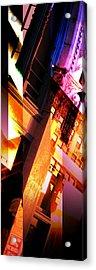 Merged - Arched Pink Acrylic Print by Jon Berry OsoPorto