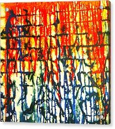 Merging Emotion Acrylic Print by Baljit Chadha
