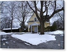 Merion Meeting House - Narberth Pa Acrylic Print by Bill Cannon