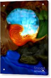 Mermaid Cove Acrylic Print by Steed Edwards