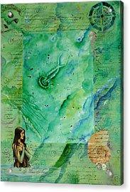 Mermaid Cove Acrylic Print