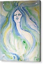 Mermaid Dream Acrylic Print by Alma Yamazaki