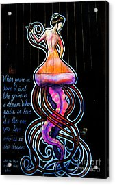 Mermaid Dream Acrylic Print by Colleen Kammerer
