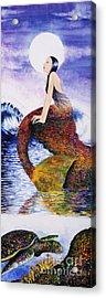 Mermaid Love Acrylic Print