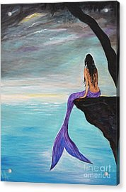 Mermaid Oasis Acrylic Print