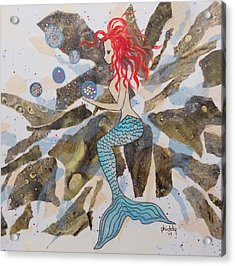 Mermaid Acrylic Print
