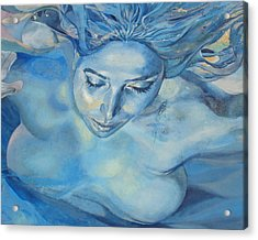 Acrylic Print featuring the photograph Mermaid by Ramona Johnston
