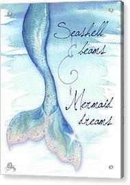 Mermaid Tail I Acrylic Print