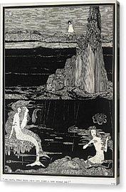 Mermaids Acrylic Print by British Library