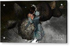 Mermaids Tail Acrylic Print
