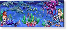 Mermaid's World Acrylic Print
