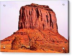 Merrick Butte Acrylic Print
