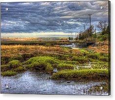 Merrimack River Marsh Acrylic Print