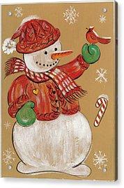 Merry Christmas I Acrylic Print