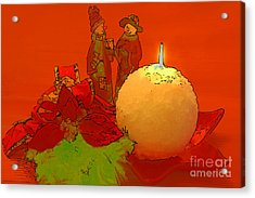 Acrylic Print featuring the photograph Merry Christmas by Teresa Zieba