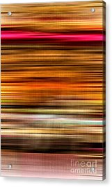Merry Go Round Abstract Acrylic Print