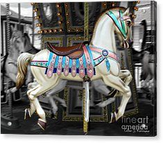 Merry Go Round Acrylic Print by Colleen Kammerer