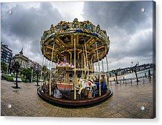 Merry-go-round Acrylic Print