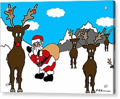 Merry Merry Acrylic Print