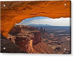 Mesa Arch 2 Acrylic Print by Abe Blair