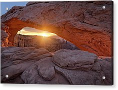 Mesa Arch, Canyonlands Acrylic Print by Jimmy Mcintyre