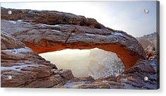 Mesa Arch Looking North Acrylic Print
