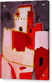 Mesa Verde Original Painting Sold Acrylic Print by Sol Luckman