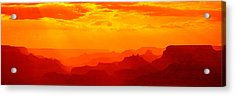 Mesas And Buttes Grand Canyon National Acrylic Print