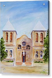 Mesilla Church Acrylic Print