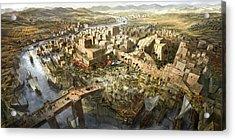 Mesopotamia Acrylic Print by Jeff Brown