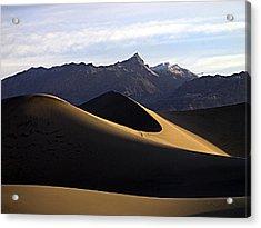 Mesquite Dunes At Dawn Acrylic Print by Joe Schofield