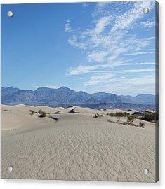 Mesquite Flat Sand Dunes, Death Valley Acrylic Print
