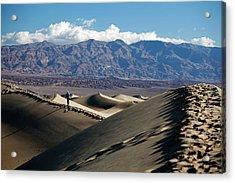 Mesquite Flat Sand Dunes Acrylic Print